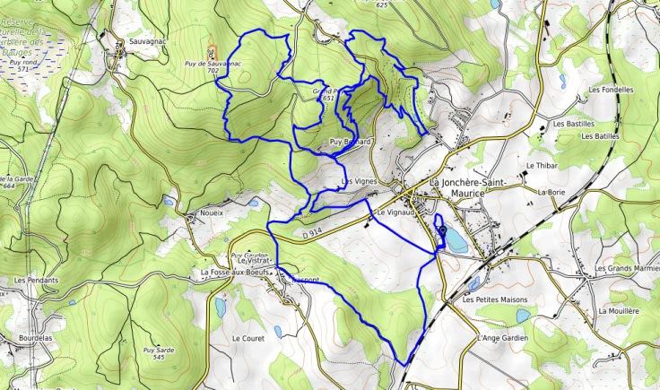 le trail de la Rigoleuse 20 km