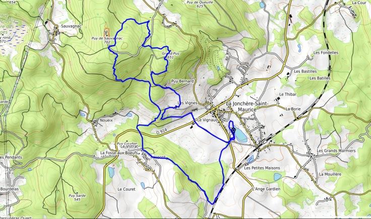trail des kaoliniers 13 km
